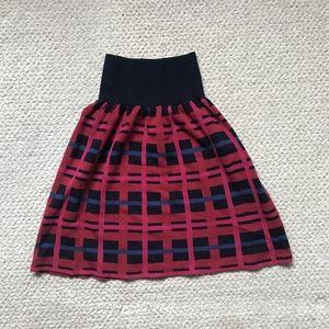 Lacoste Plaid Skirt, Size 32